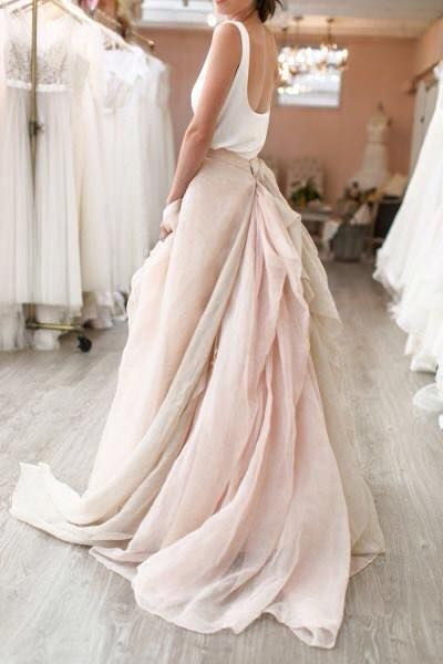 10392 best wedding dresses to marry for images on for Simple pink wedding dress