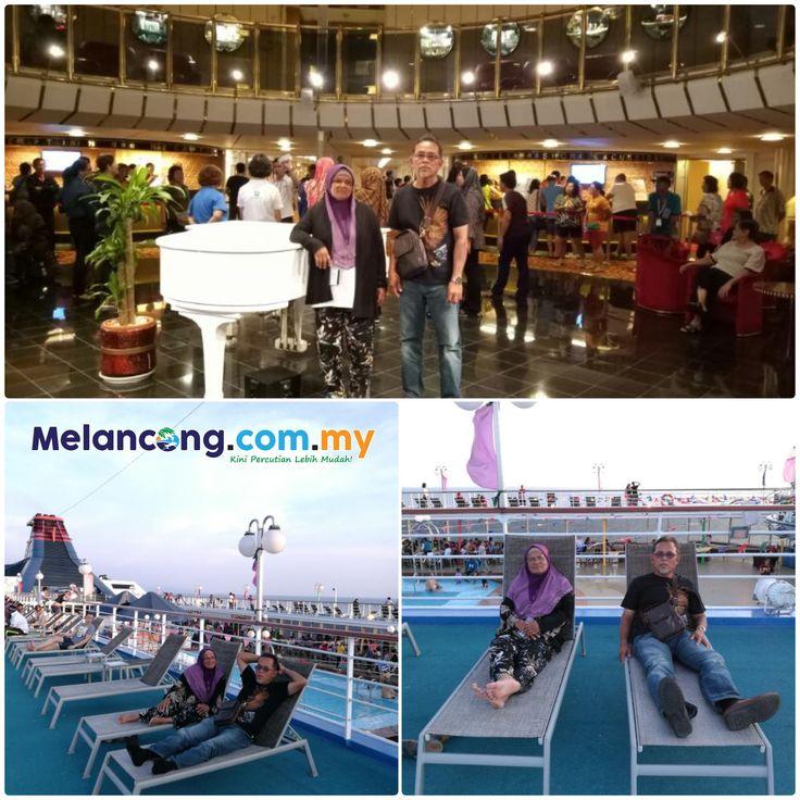 """Jom bawa ayah dan ibu belayar membelah laut dan bercuti di Phuket serta Krabi 😎😊 Terima kasih Nurul Izati dan kedua orang tuanya yang 'Cool' melancong dengan pakej Star Curise 4 Hari 3 Malam :D Testimoni: """" Terima kasih Hadigo, untuk percutian Star Cruise. Everything gone well n exciting Percutian yang sangat menarik untuk saya sekeluarga. Pengurusan percutian terbaik dari Melancong.com.my"""""""
