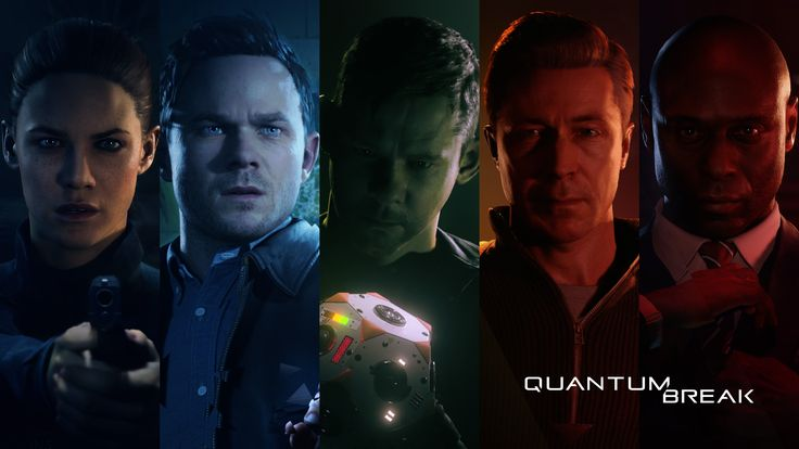 Quantum Break - Beth Wilder,Jack Joyce, William Joyce, Paul Serene and Martin Hatch