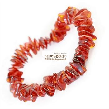 This may be an alternative to assist with arthritis, eczema and general aches and pains.This 18cm bracelet is made from amber nuggets that have been smoothed so that there are no sharp edges. This Cognac Nugget bracelet is threaded onto elastic to stretch over your wrist. While Bambeado amber comes in several colours, the colour is just a matter of personal choice.