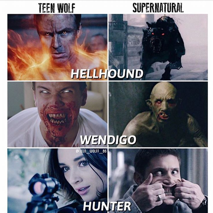I definitely prefer the Supernatural hunter, especially since it's a pic of Jensen (and I mean literally Jensen, not Dean)