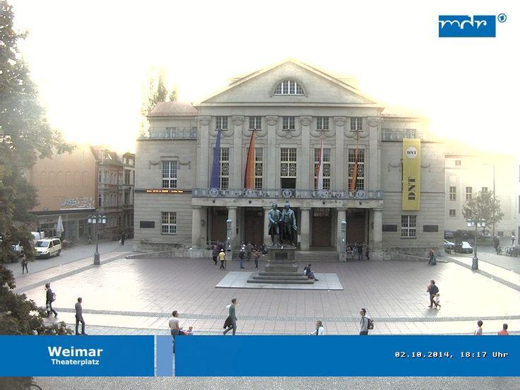 Der Himmel über #Weimar #Wetter #Thüringen