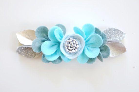 Fancy Free Finery // Felt Flower Crown // Pixie by fancyfreefinery