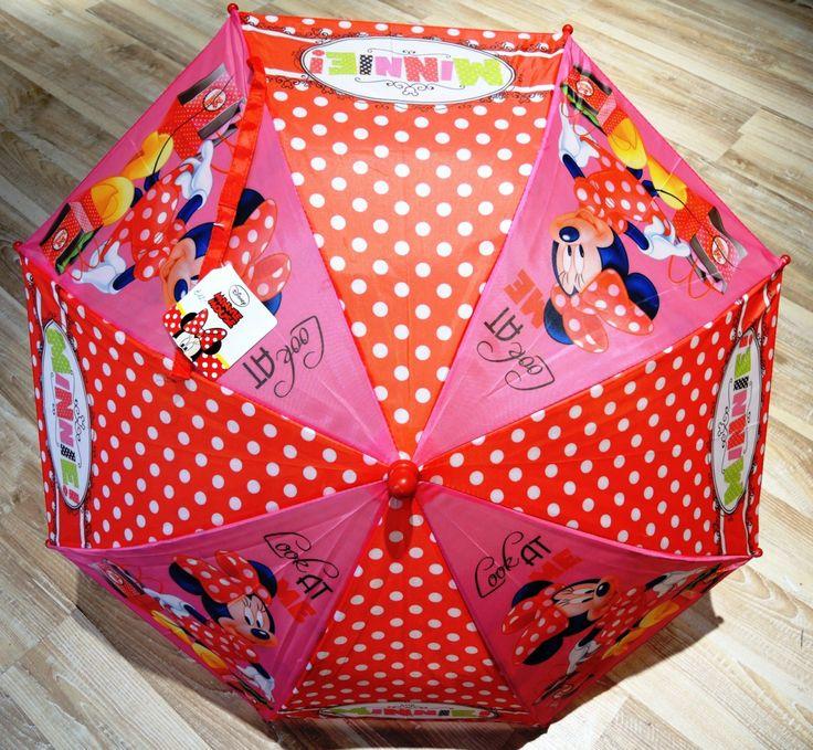 Minnie Mouse Kinderschirm um € 12,00 bei Kirsches Taschen und mehr...! www.kirsches.at oder auf Facebook