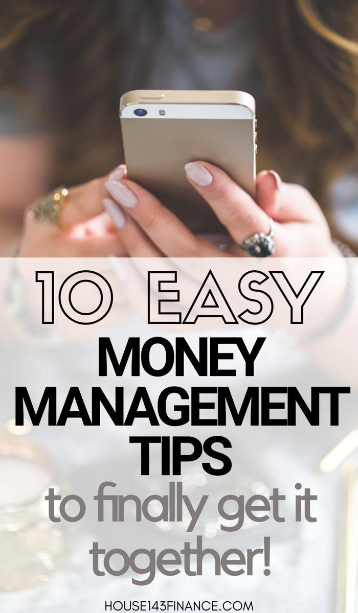 10 Easy Money Management Tips