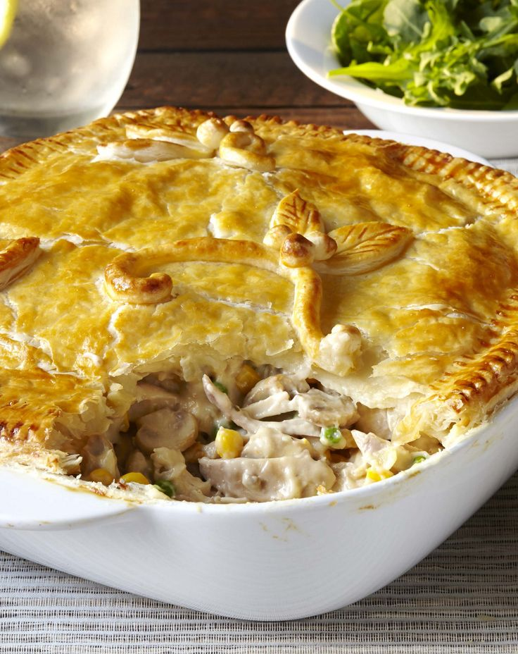 A tasty chicken pot pie is a force to be reckoned with! This perfect weeknight dinner recipe is ideal for busy families with kids. #Knorr #WhatsForDinner