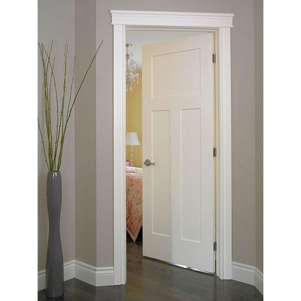 Cool Craftsman III Smooth Finish Moulded Interior Door Jeld Wen es in solid core or hollow core Standard Pocket Closet etc New Design - Latest interior door paint type Contemporary