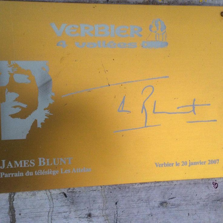 Happy birthday @jamesblunt lift! 10 years today and still going strong. #verbier #televerbier #dayslikethese #jamesblunt #valais #esseverbier #eswinter