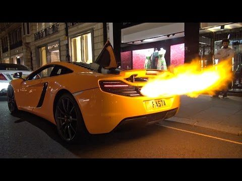 McLaren MP4-12C Flammenwerfer - addicted to motorsport