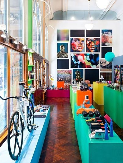 Fresh and colourful concept in Sydney
