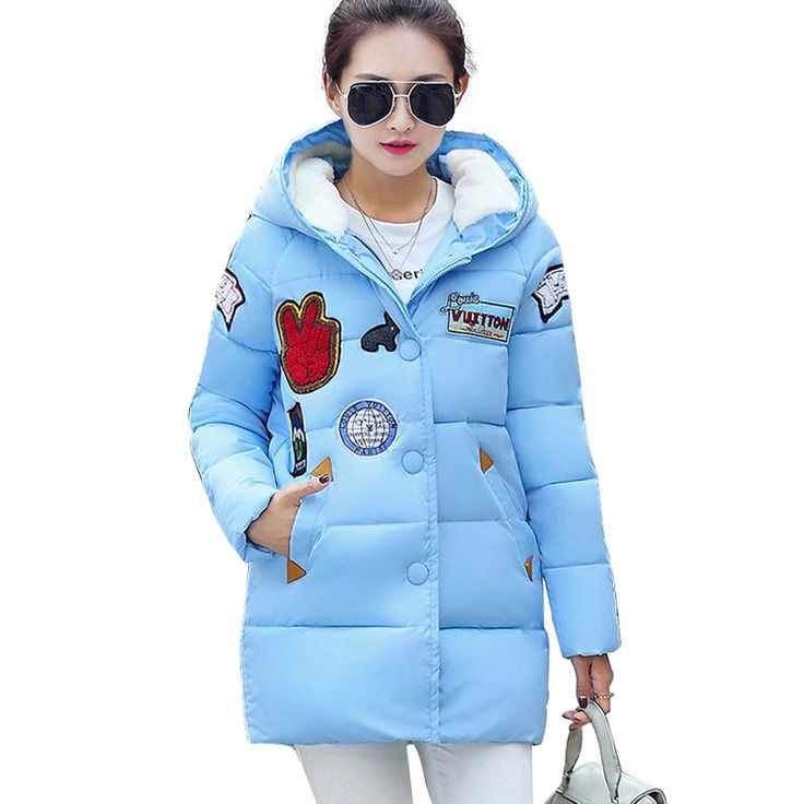Long Thick Parkas Female Hooded Cotton Padded Fashion Warm Coat $42.75   => Save up to 60% and Free Shipping => Order Now! #fashion #woman #shop #diy  http://www.yiclothes.net/product/new-plus-size-winter-women-down-cotton-jacket-long-thick-parkas-female-hooded-cotton-padded-fashion-warm-coat-outerwear-ce0376/