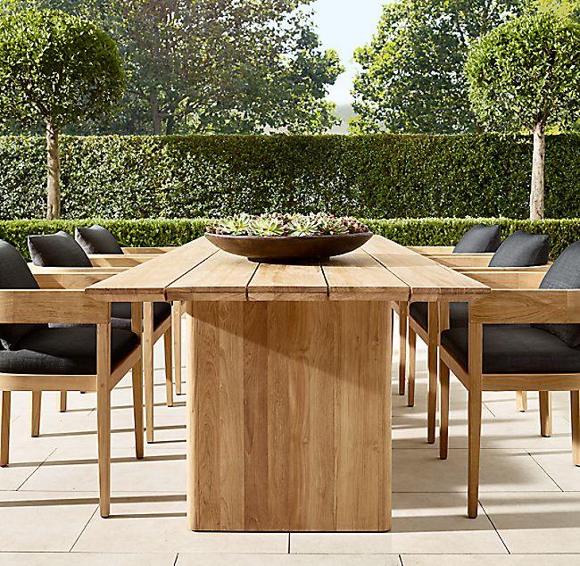 Balmain Teak Rectangular Dining Table Rectangular Dining Table
