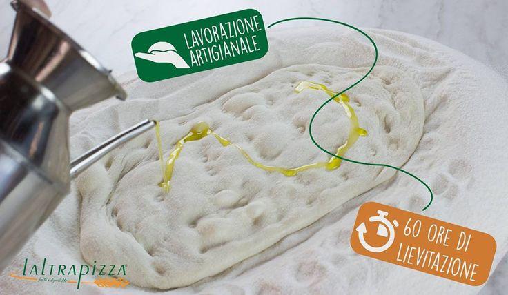 Laltrapizza la pizza leggera e digeribile, impasto a lunga lievitazione e lavorazione artigianale!! Scopri di più su www.altrapizza.it