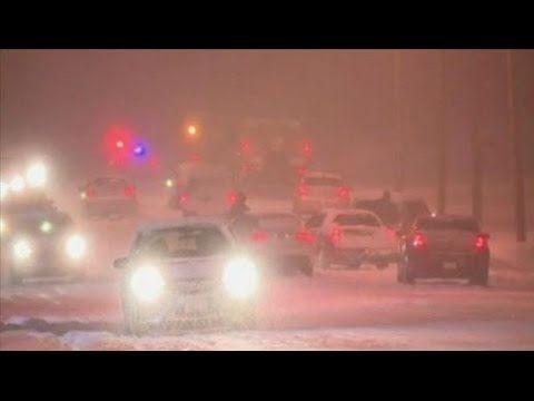 Polar Vortex looms as snow roars across North