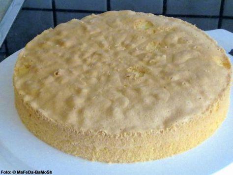 Rezept: Blitz-Biskuit (Wiener Boden)