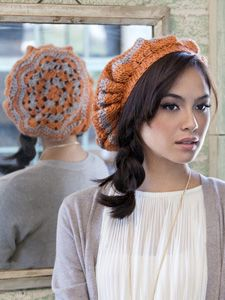 Hip Hip Beret | Yarn | Free Knitting Patterns | Crochet Patterns