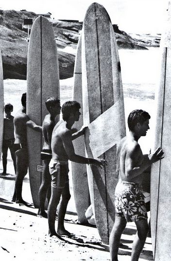 11. Vintage Summer Picture - Seeing these vintage surfboards makes me happy