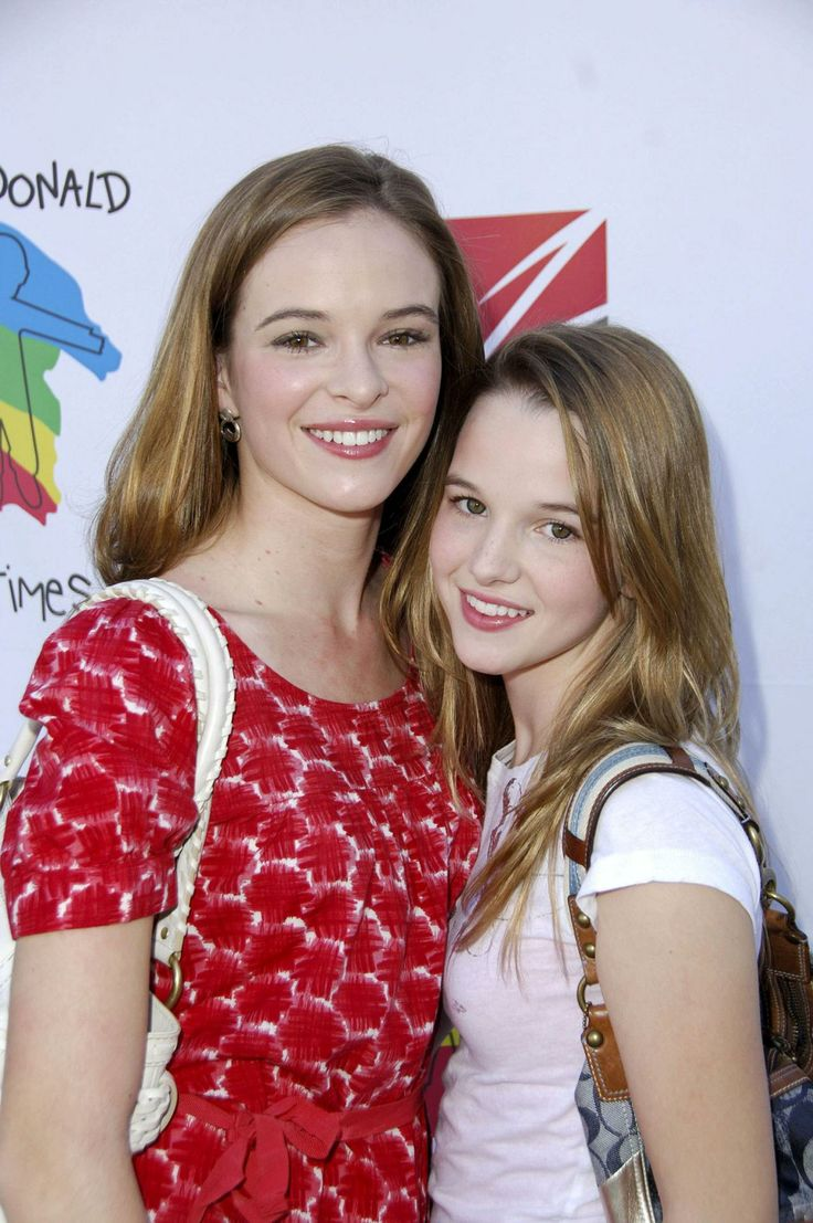 Kay & Danielle Panabaker