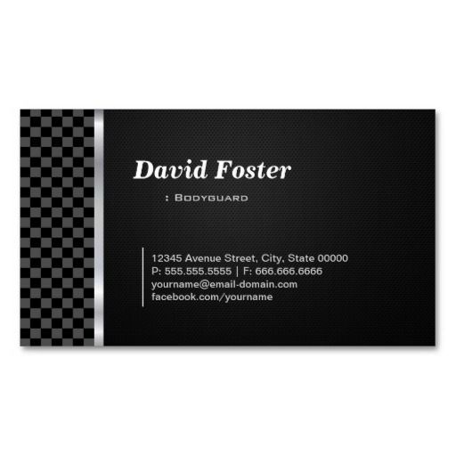 17 best images about bodyguard business cards on pinterest for Bodyguard business cards