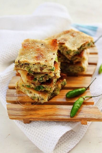 Cooking With Love: Indonesian Snack, martabak telor