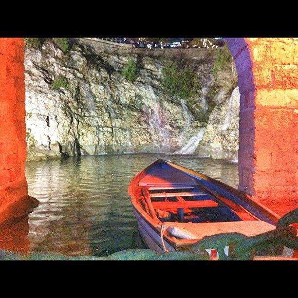 Una barca al molo, al #presepe #vivente di Tricase.