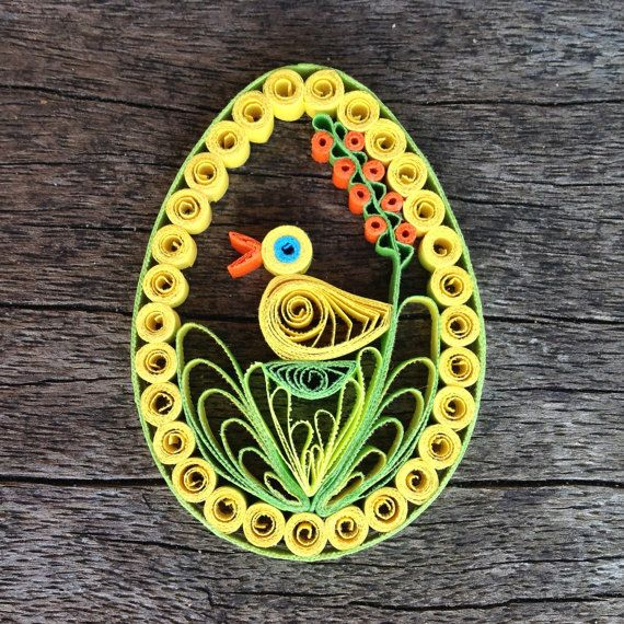 Easter Egg Quilling