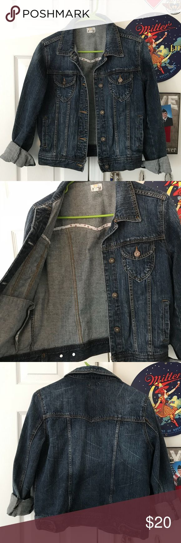 Mudd Jean Jacket Mudd Jean Jacket. Super cute style and fit. Only worn once, in great condition. Love the fade, great over all types of tops and dresses! Make an offer! Mudd Jackets & Coats Jean Jackets