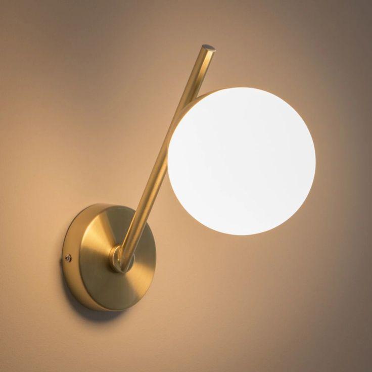 Applique en métal et verre Elton | Maisons du Monde ...