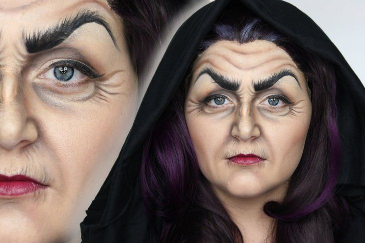 Pin for Later: 11 Disney-Villain-Inspired Makeup Tutorials Evil Witch — Shonagh Scott