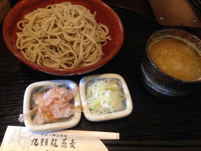 九頭龍蕎麦 - 越前おろし蕎麦:740円