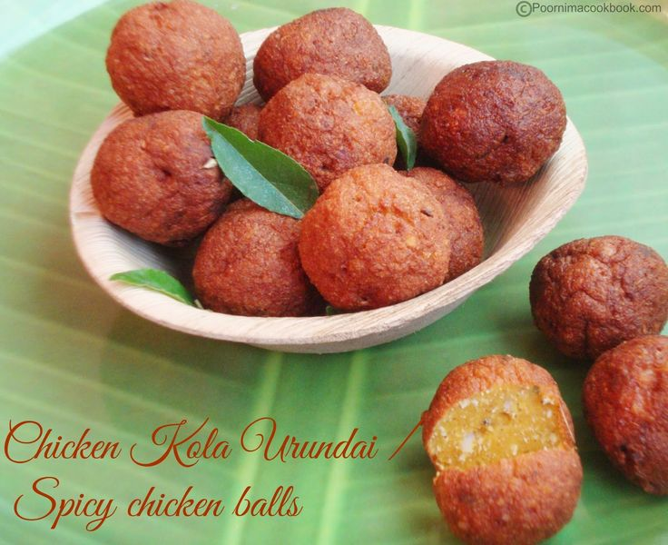 38 best non veg recipes images on pinterest veg recipes a yummy twist to the chettinad special kola urundai by using chicken instead of meat forumfinder