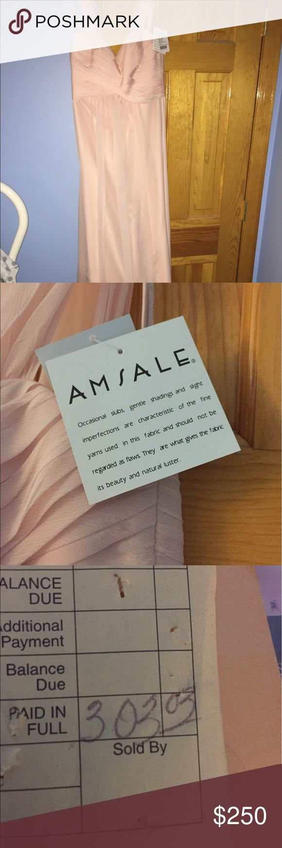 Amsale Bridemaid dress Brand new never worn! Amsale Dresses