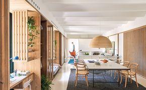 Un appartement d'architecte dans un vieux quartier de Barcelone - PLANETE DECO a homes world