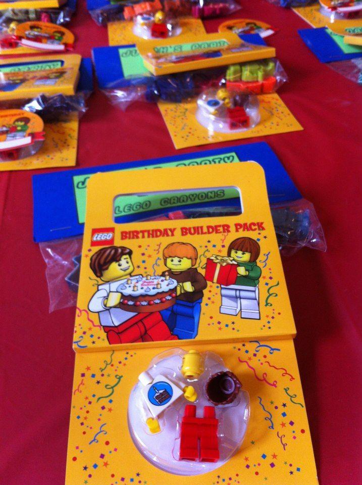 Lego Birthday Cake Learning Fun