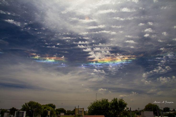 Circumhorizon Arc Over Sampacho, Argentina