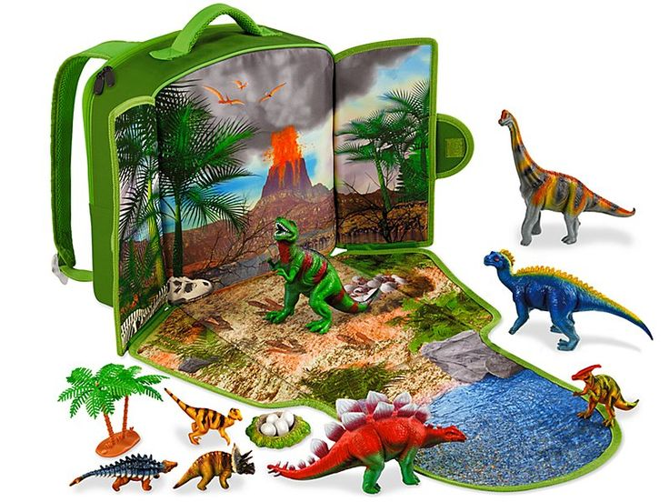 Dinosaur Adventure Backpack Grandkids Dinosaur Toys