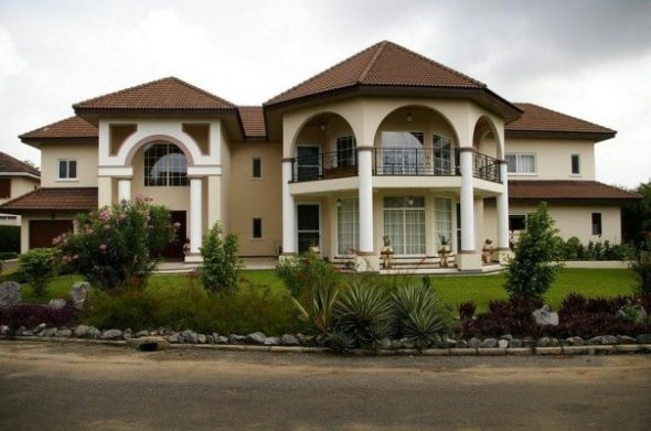 Accra ghana africa mansion luxury homes ghana for Beautiful homes photo gallery