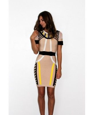 New arrival Eden Bandage Dress at Lady Luxe Boutique, price AUD 129