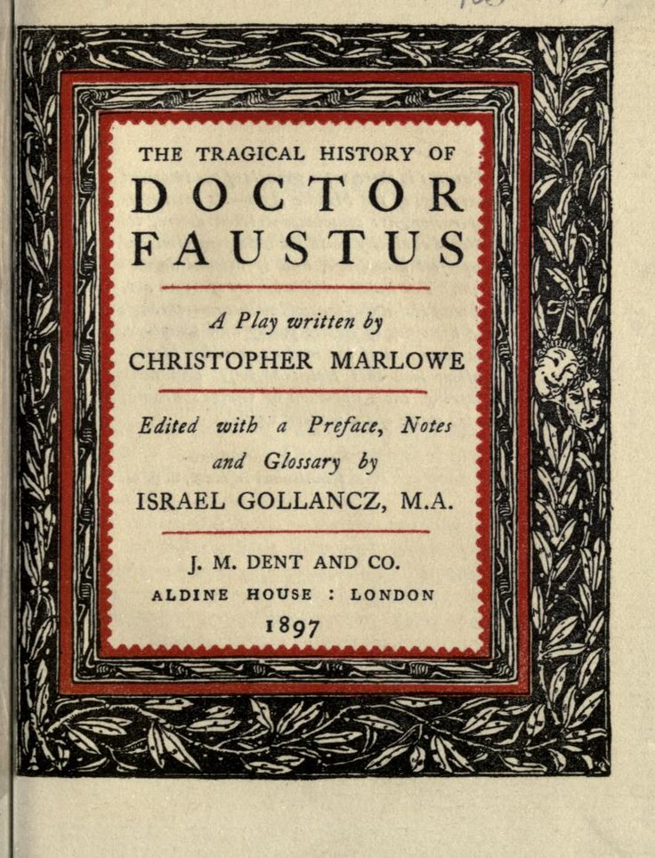 why faustus did not repent in doctor faustus by christopher marlowe essay In christopher marlowe's play, doctor faustus, the idea of repentance is a   although faustus may not think it, he guilty of each of those sins, namely jealousy .