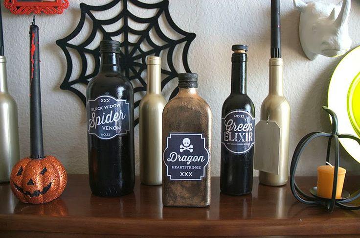 17 best images about halloween on pinterest halloween for Halloween medicine bottles