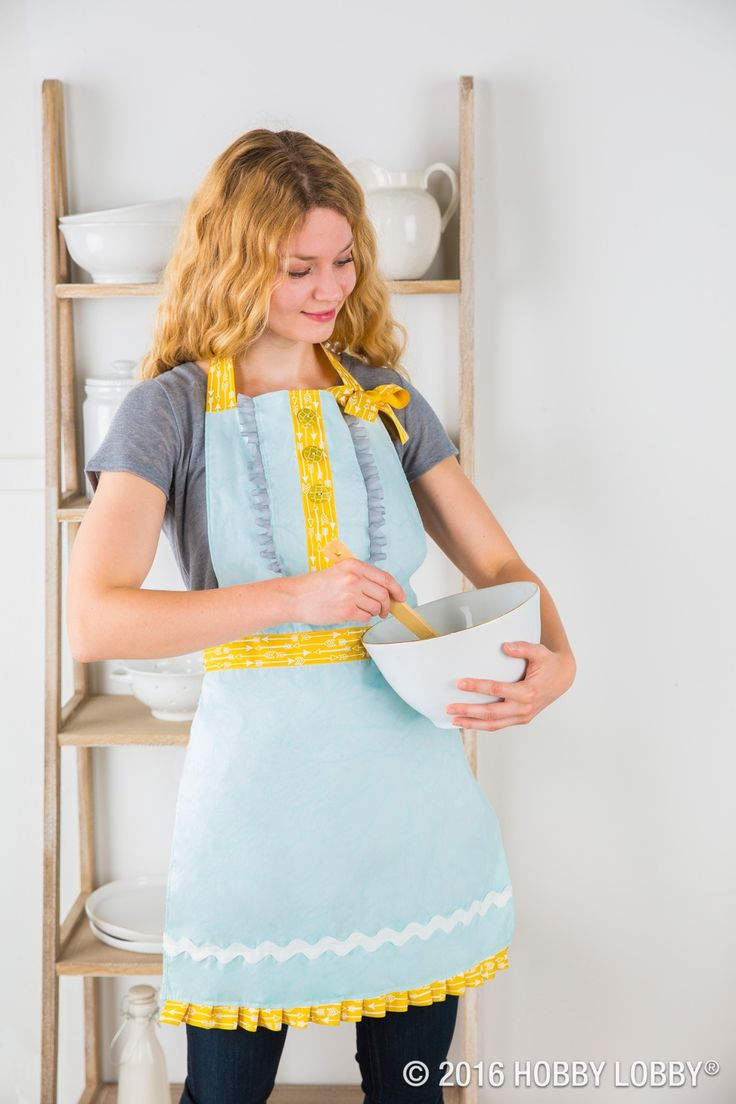 White apron hobby lobby - From Hobby Lobby Use Pillowcases To Create The Perfect Apron And Personalize It With Ribbon Trims