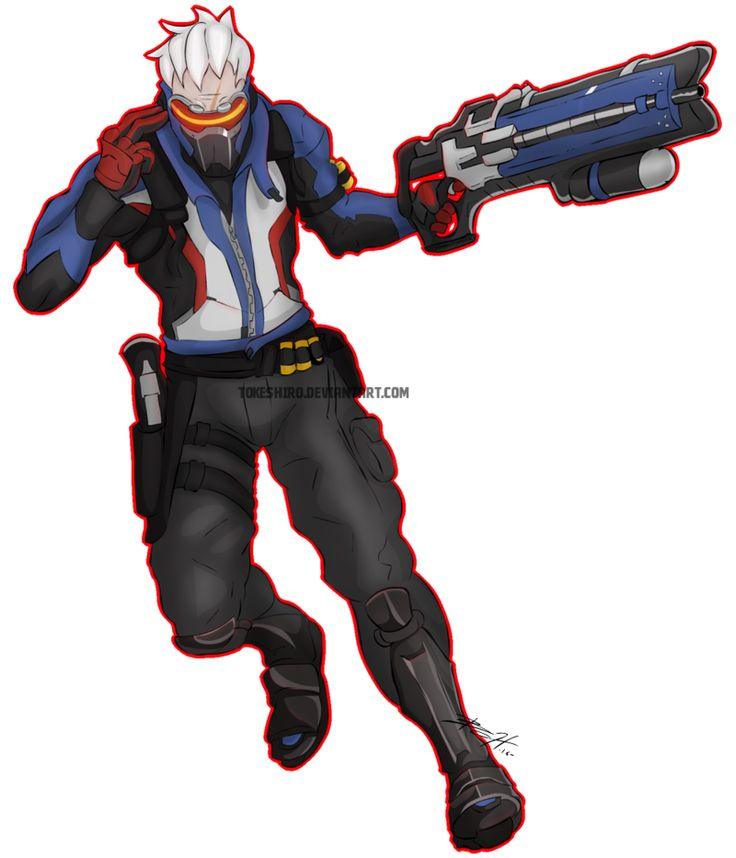 17 Best Images About Soldier 76 On Pinterest Rifles