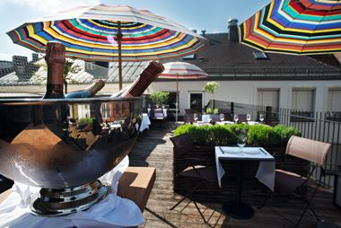 Emiko Restaurant & Bar - LOUIS HOTEL    We love hotels!  Also see http://www.falkensteiner.com