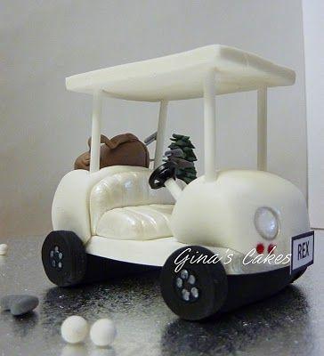 Top That!: Golf Cake {sneak peek!}