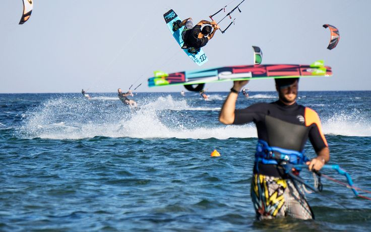 Kite Surfing Takes Loutsa by Storm