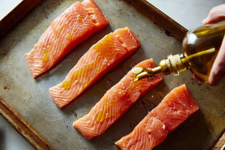 Salmon Oil   You'll Never Cook Salmon the Same Way Again!