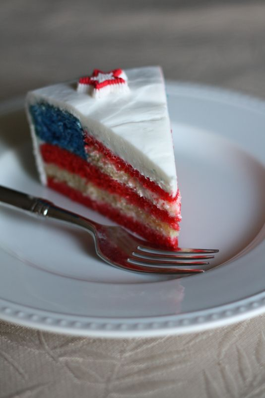 Independence Day Cake + link for instructions