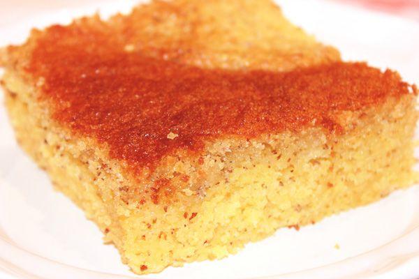 My son's favorite GF cornbread! Sweet Cornbread Cake! Nobody in my family can tell it's gluten free. :-)