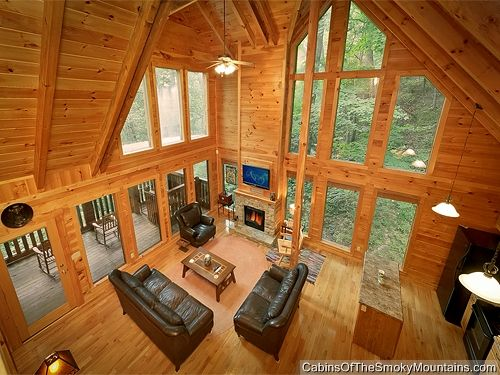 "Gatlinburg chalet rental ""Mountain Blessing"" - uniquely spacious 4-bedroom cabin"