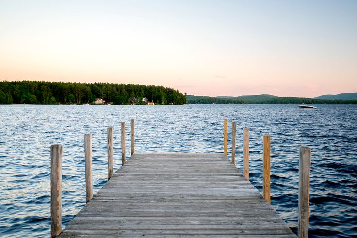 It's easy to spend a lovely, laid-back day on New Hampshire's Lake Winnipesaukee. - National Geographic